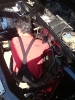 Bergungsarbeiten am Alfasud TI 105 QV